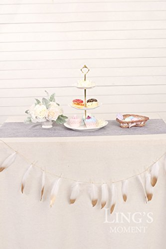Lings-moment-Dipped-Feathers-Banner-Garland-12pcs