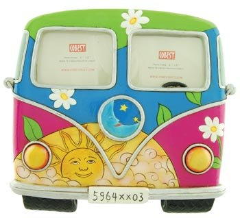 Bug Van Front Photo Frame, Holds 3x2 -