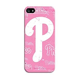 Customizable Baseball Philadelphia Phillies iphone 5/5s Perfect Color Match Cover Case for