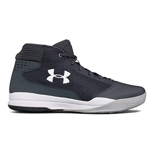 Under Armour Men's Jet 2017, Stealth Gray/Stealth Gray/White, 10.5 D(M) US