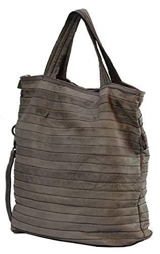Gris gris à l'épaule à Large 0134 Sac X BZNA femme B0075 pour porter wAFzFq