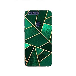 Cover It Up - Green Fractures Honor 8 Hard case