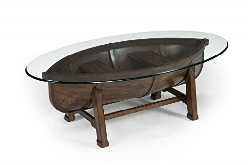 - Magnussen T2214 Beaufort Wood Oval Cocktail Table