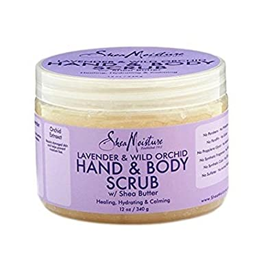 SheaMoisture Hand/Body Scrub, 12 Ounce