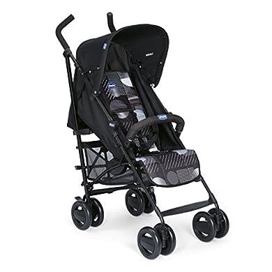 Chicco London - Silla de paseo, 7.2 kg, compacta y manejable, color negro estampado (Matrix) a buen precio