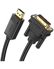 Ugreen Display Port Erkek to DVI 24+1 Erkek Görüntü Aktarma Kablosu 2 Metre
