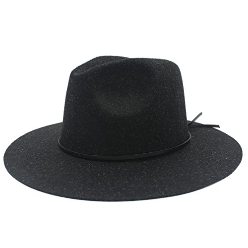 WAN SAN QIAN- 100% Hemp Wool Wide Brim Winter Autumn Flop...