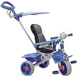 Triciclo Smart Comfort Reclinável, Bandeirante, Azul