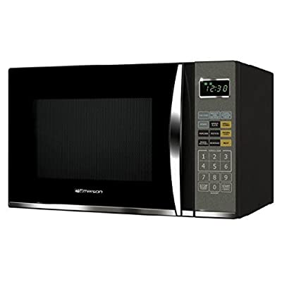 Click for Emerson MWG9115SB, 1.2 Cu. Ft. 1100W Touch Control, Stainless Steel Microwave Oven with Grill (Certified Refurbished) (1.2 cu. ft., Black)