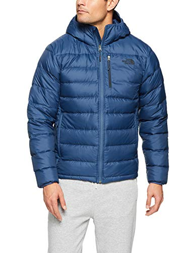 The North Face Men's Aconcagua Hoodie Shady Blue - Jacket North Hooded Mens Face