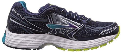 Brooks Defyance 8 - zapatillas de running de material sintético mujer negro - Schwarz (Schwarz/Blau/Limette 435)