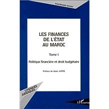 Finances de l'état au maroc  t.1