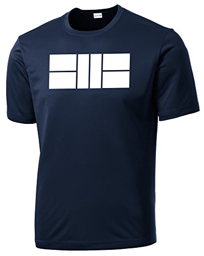 Dinkers & Bangers Men's Dri Fit Pickleball Court Shirt