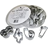 Craftit Edibles; 9 Pcs Stainless Steel Mini Number Cookie, Fondant, Craft Cutters-