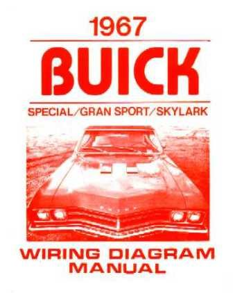 1967 BUICK GRAN SPORT SKYLARK SPECIAL Wiring Diagrams ()