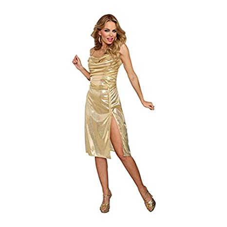 Hippie Costumes, Hippie Outfits Dreamgirl Adult Disco Inferno Sexy Costume $39.99 AT vintagedancer.com