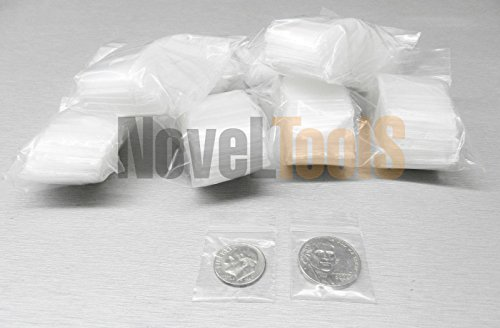 1000 ZIPLOCK RECLOSABLE 2MIL CLEAR POLY 1