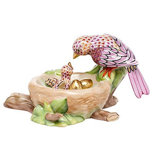 - Herend Birds Nest Porcelain Figurine Reserve Collection
