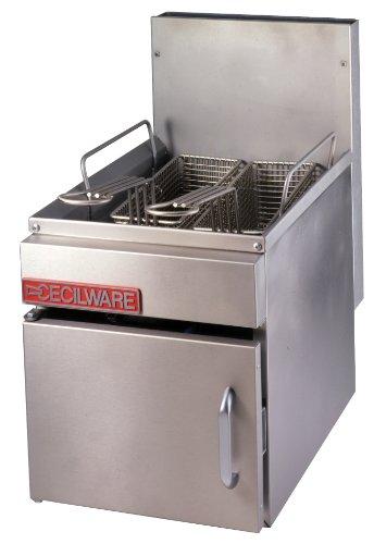 Grindmaster-Cecilware GF10-NAT Countertop 10-Pound Natural Gas Fryer, 26000/BTUs/Hour