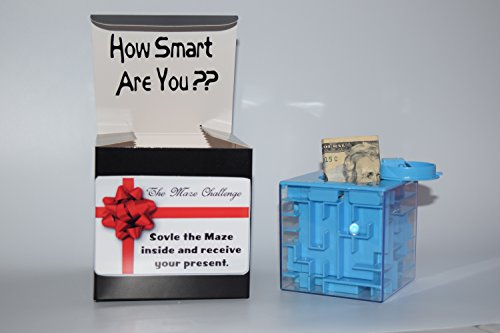 Money Maze Box Puzzle Bank – The NEW way to give Cash – Make an special event like birthday – Christmas – Graduation – Easter the best with Cold Hard Cash in a HARD way to get