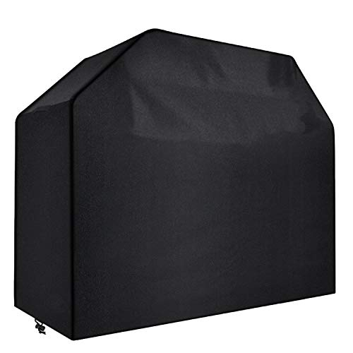 UMANOR Grill Cover 58 Inch for 3-4 Burners – Durable BBQ Cover with Heavy-Duty Weather Resistant Fabric