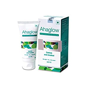 Ahaglow Acne Control Moisturizing Gel, Effectively Control Acne Breakouts, 50g