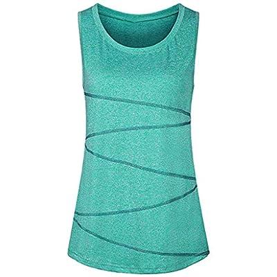 TWGONE Workout Tank Tops for Women Sleeveless Yoga Activewear Running Tunic Vest