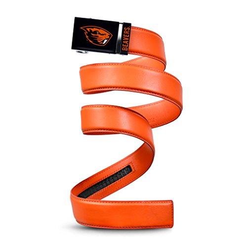NCAA Oregon State Beavers Mission Belt, Orange Leather, Extra Large (up to 42)