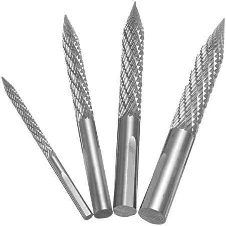 Hitommy Tire Repair Drill Reamer 3mm Drill Bit 60mm Length High Carbide Cutting Tool