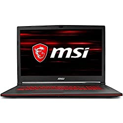 Msi Gl73 8rd-031 Full Hd Performance Gaming Laptop I7-8750h (6 Cores) Gtx 1050ti 4g, 16gb 128gb + 1tb, 17.3""