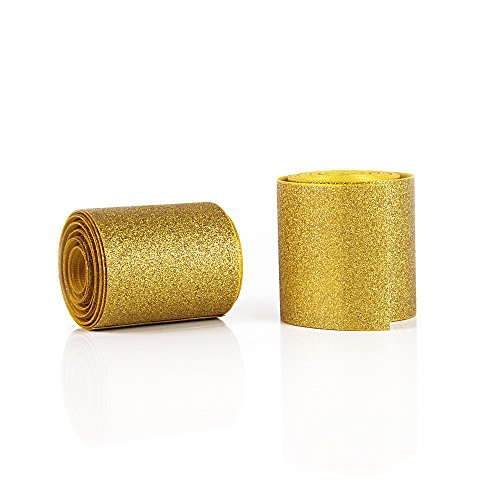 - Holographic Solid Shiny Glitter Grosgrain Ribbon 3