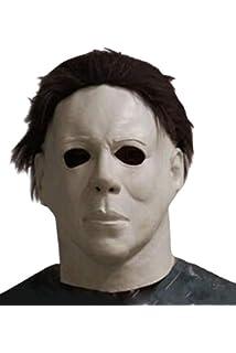 Halloween Horror Movie Mascara de Latex Mascara de Horrible Asesino de Cabeza Llena con Cabello