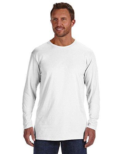 Hanes Mens Nano-T Long Sleeve T-Shirt