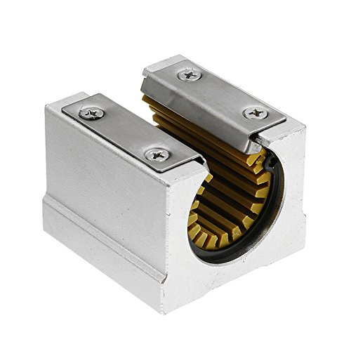 Solid Polymer SBR20UU 20mm Open Block Linear Bearing Slide CNC Parts Router Linear -