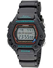 Casio Mens Multi Function Digital Black Resin Strap Watch
