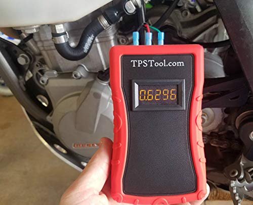 Throttle Position Sensor (TPS) Adjustment and Test Tool, Powered (4 Adapters) by TPSTool.com (Image #1)