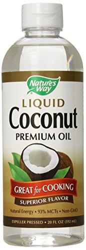 Nature's Way Liquid Coconut Oil, 20 FL OZ (592 ml)