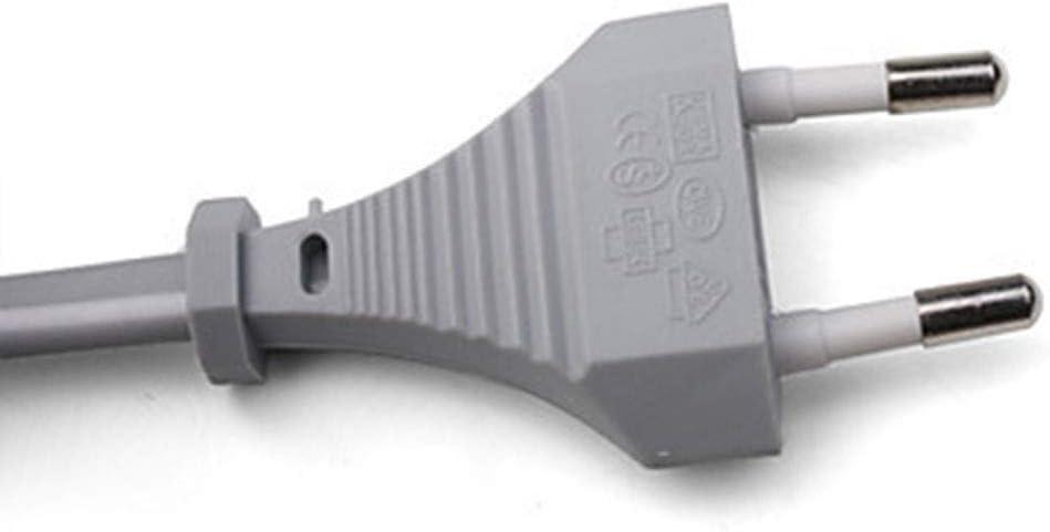 Flushzing Ersatz f/ür Wii EU-Plug-Konsole 110-240V Ladeger/ät DC 15V 5A Kunststoff-Wand-Adapter Stromversorgung