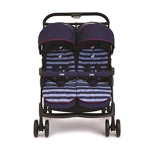 joie Geschwister-Kinderwagen AireTwin - Nautical Navy blau