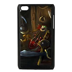 iPod Touch 4 Case Black League of Legends Fiddle Me Timbers QH1817086