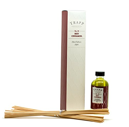 (Trapp Candles Reed Diffuser Refill Kit, No. 39 Sexy Cinnamon,)