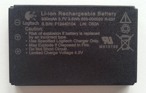 Original Battery for Logitech Dinovo Mini and Logitech Mini Controller