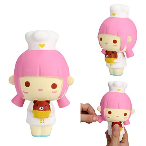 Bell Collection Jewelry John - Yeefant Stress Relief Extrusion Toys Random Cooking Girl Charm Super Soft Slow Rising Relaxing Anti-Anxiety Squeeze Mini Colorful Scented Collection Squeeze Stress Reliever Toy For Kids Adult