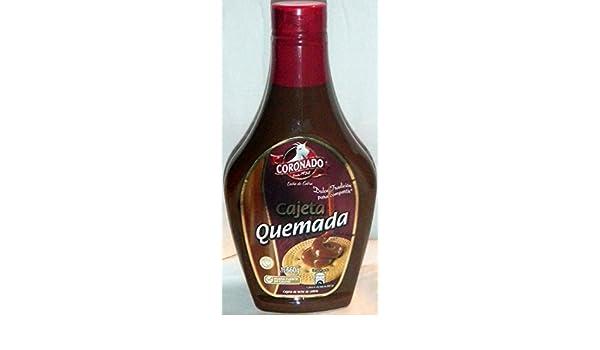Coronado cajeta quemada leche de leche de cabra cabra dulce Candy 652 de México: Amazon.es: Alimentación y bebidas
