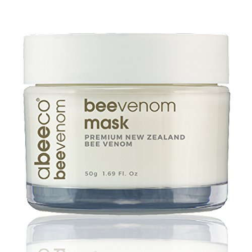 Abeeco, Pure New Zealand Bee Venom Mask, 1.69 fl oz (50g)