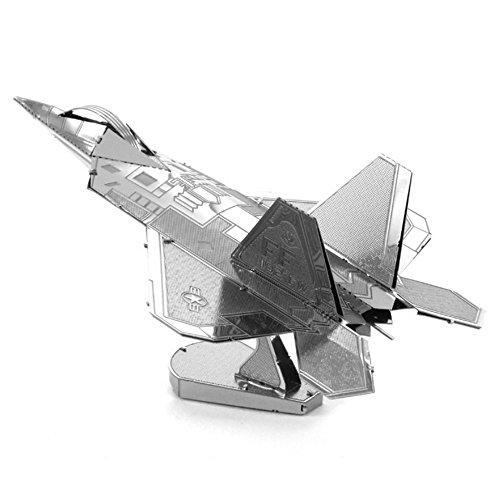 DIY F - Raptor Fighterホームアートワークナノメートル3dメタルモデルキットの商品画像