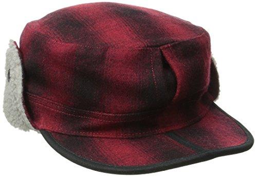 Wool Trapper - Outdoor Research Yukon Cap, Redwood/Black, Medium
