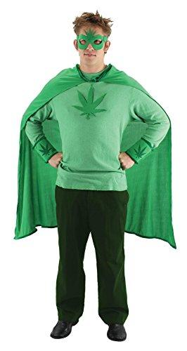 Marijuana Costumes (elope Weed Man Costume Kit)