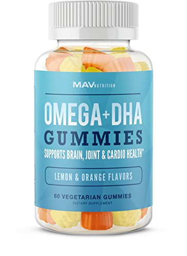 - Fish Oil Omega 3 Gummies as DHA + Brain Supplement; Omega 3 6 9 to Support Vision and Immune Health; Pure Plant Based Oils, Natural Flavors, Non-GMO, Gelatin-Free, Vegetarian Friendly