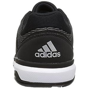adidas Women's Shoes | Crazyflight Team Volleyball, Black/Metallic Silver/Black, (10.5 M US)
